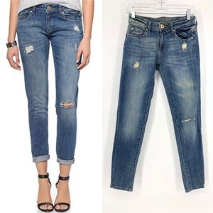 DL1961 skinny cropped jeans 24